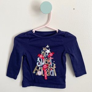Oh Sweet Holiday Baby Girl T-Shirt 6-12M